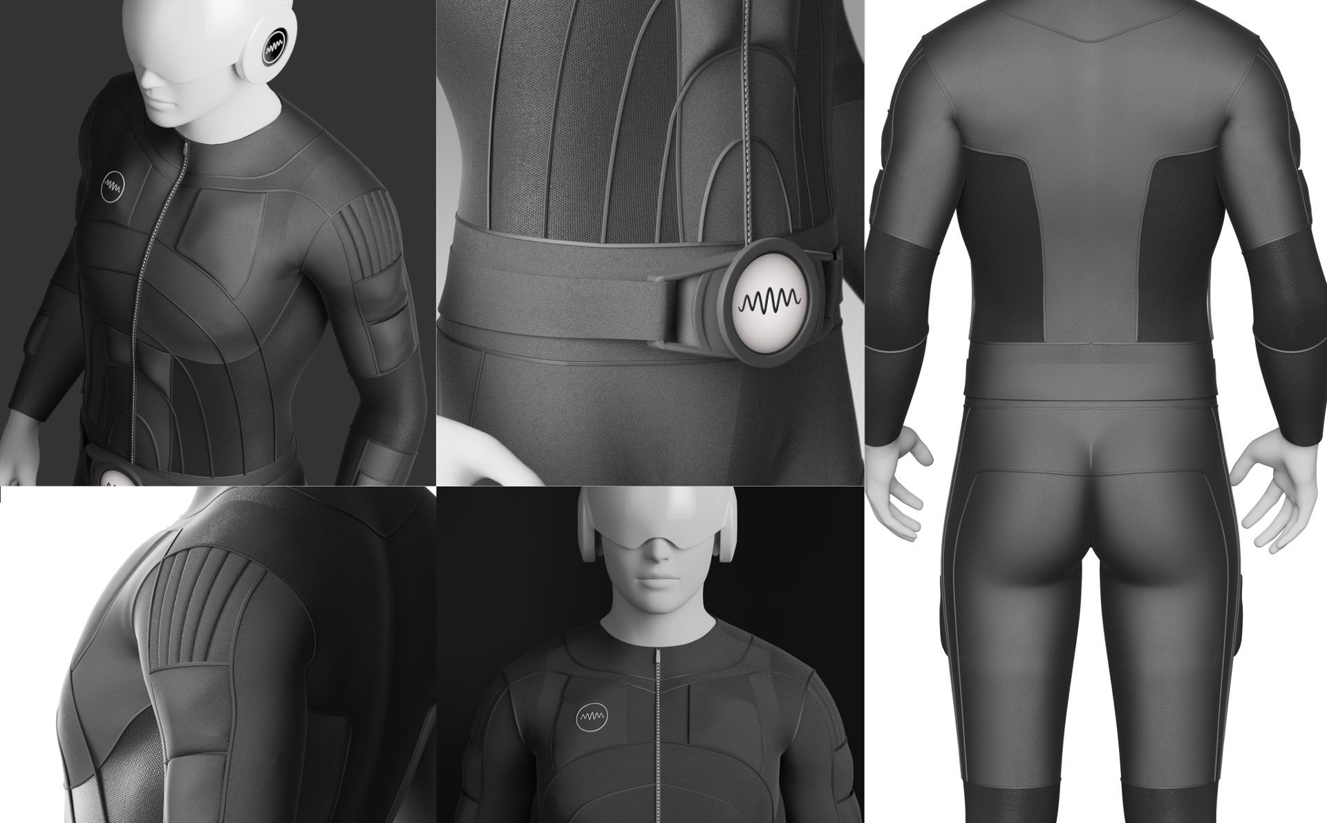 The Tesla Suit is a full-body haptic suit that allows users to feel what they play. It's a smart textile gaming suit that lets people interact with virtual environments in ways that were not possible before.