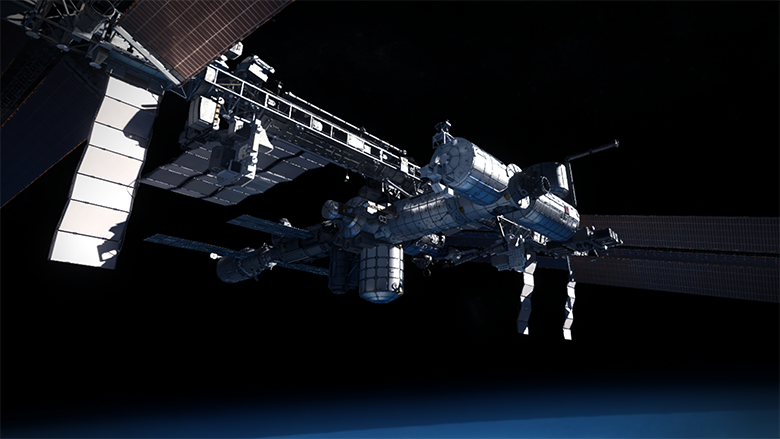 International Space Station VR
