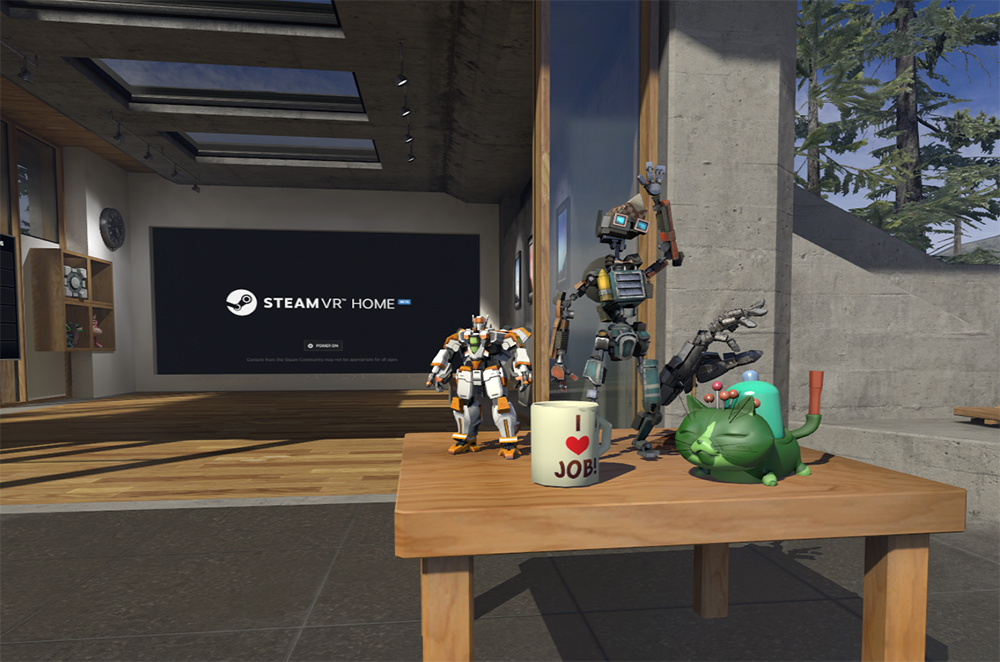steamvr collectibles