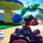 Mario Kart Arcade GP VR is powered by HTC Vive