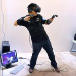 Steam to Support Virtual Reality in Large Rooms