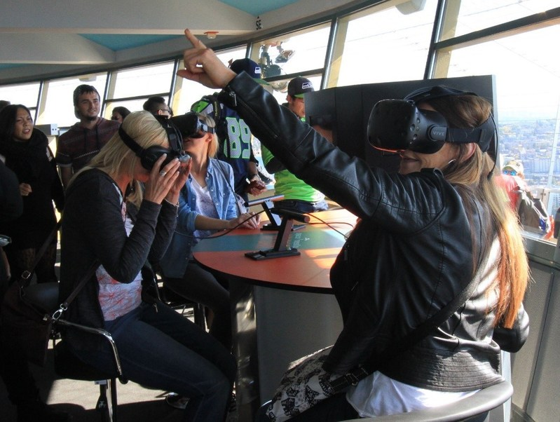 space needle vr bar