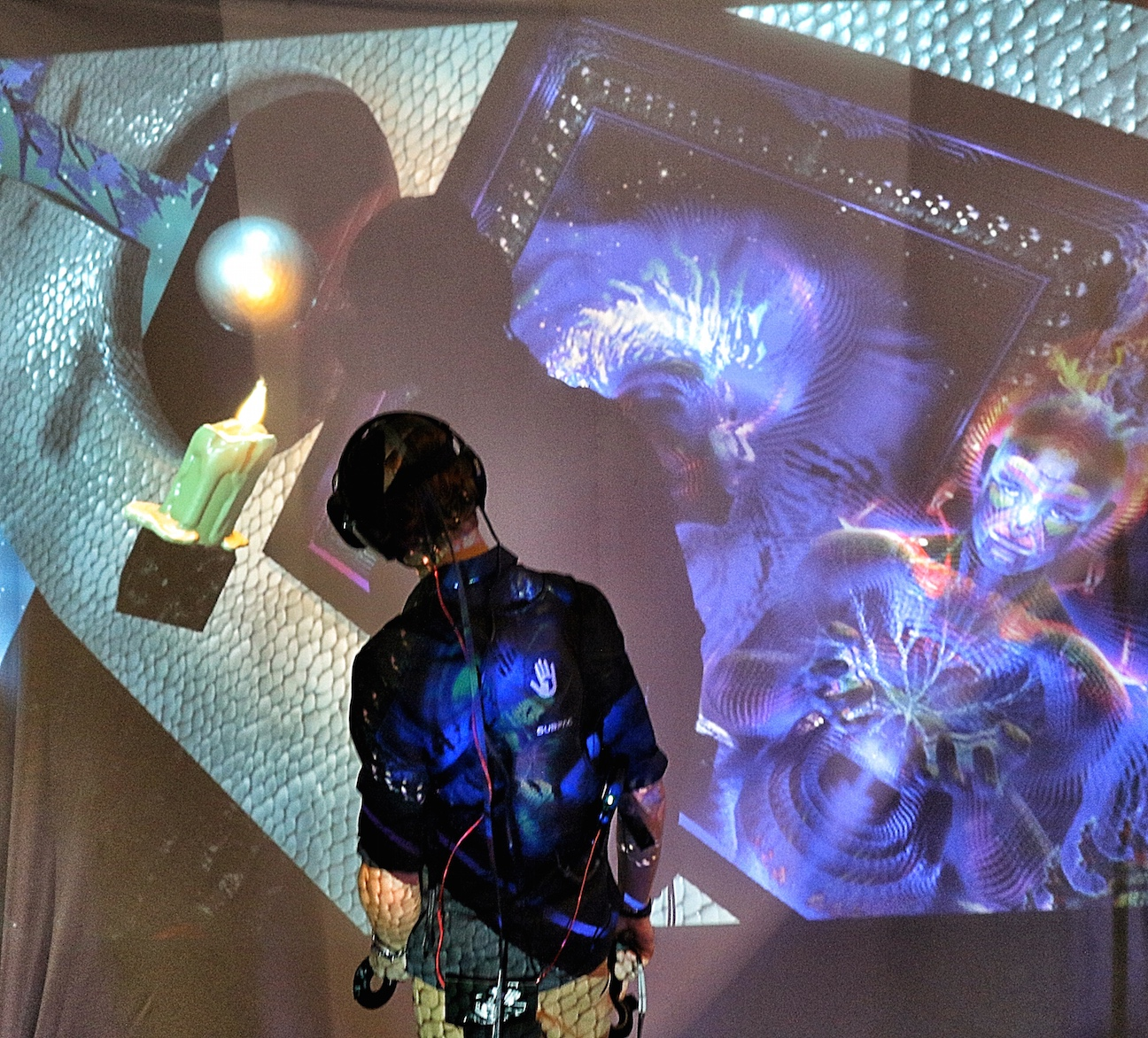 Galactic Gallery immersive virtual art experience