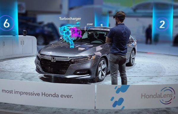 HondaLens Augmented Reality