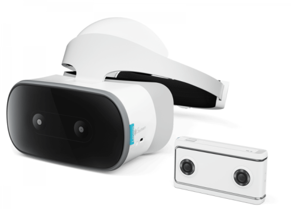 Lenovo Mirage VR180 Camera Based on Daydream