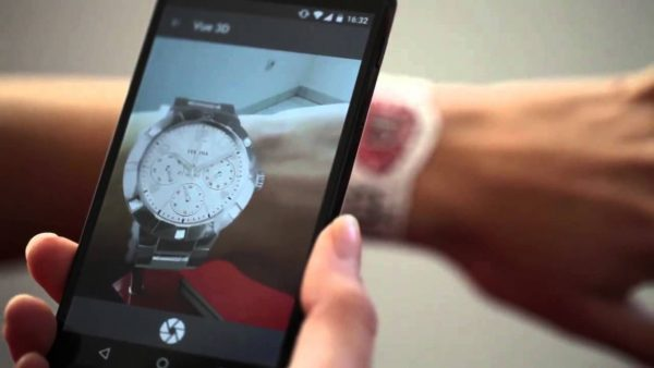 Augmented Reality Try On Watch in 3D
