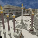 A Gilded Ancient Rome Rendered in Immersive Virtual Reality