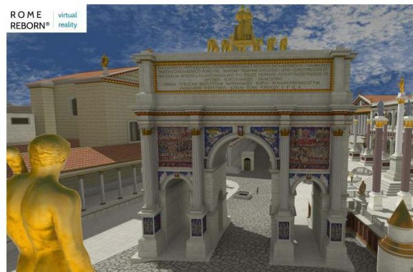 Rome Reborn Virtual Reality Reconstruction