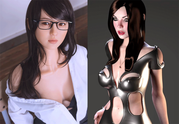 ds doll robotics,3dhologirlfriend