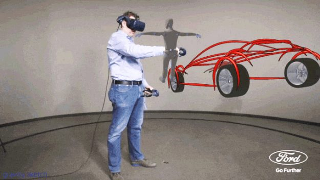Ford Plans to Design Cars with Virtual Reality Sketches
