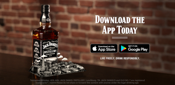 Jack Daniels Augmented Reality
