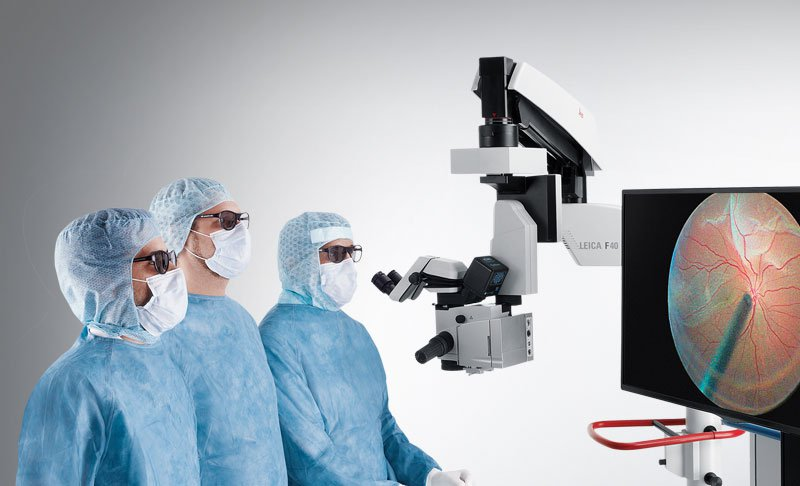 TrueVision 3D Visualization System Ophthalmology