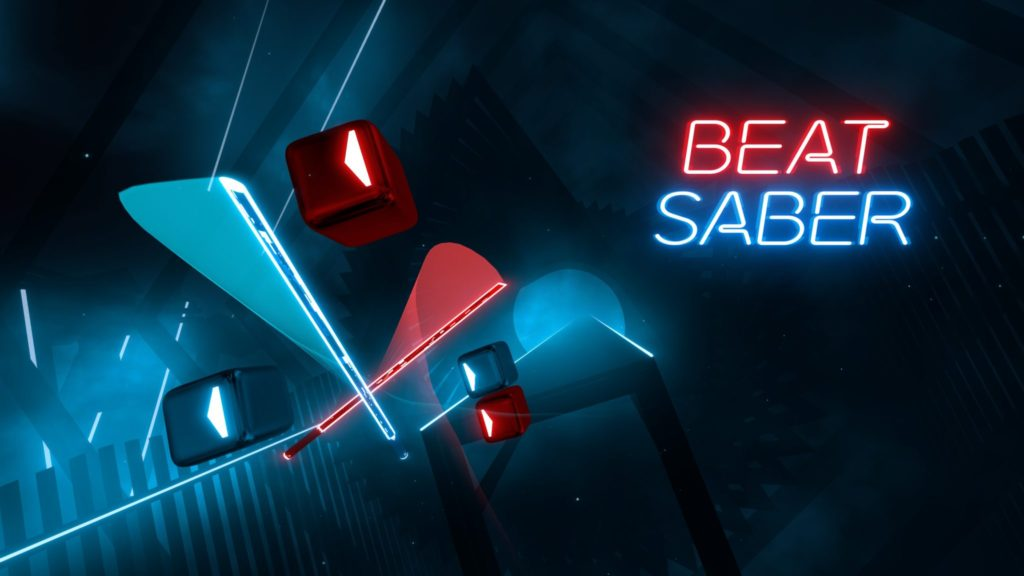 Beat Saber Key Art