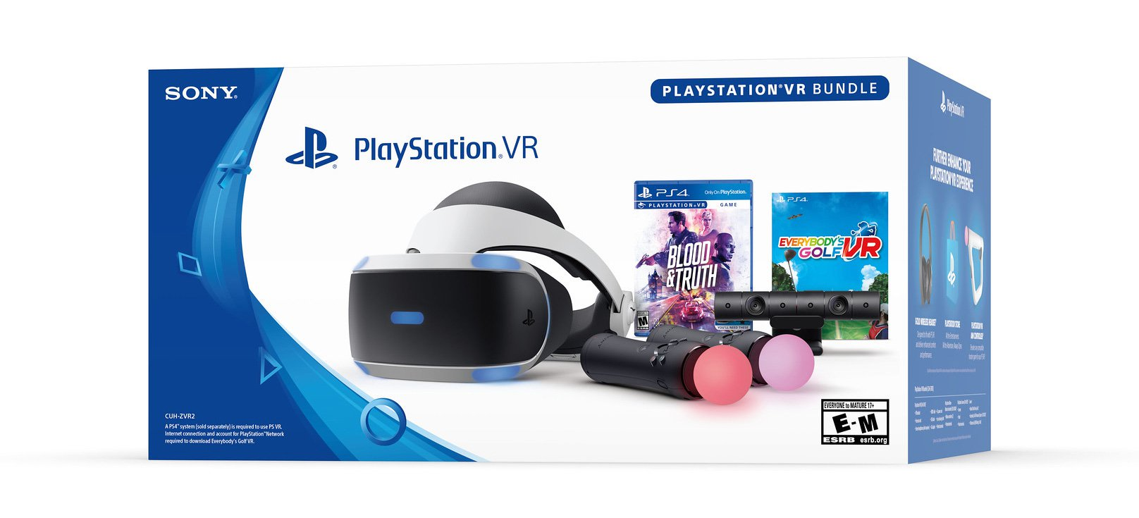 PlayStation VR Blood and Truth Bundle