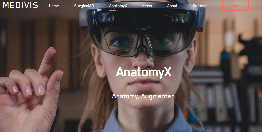 AnatomyX by Medivis
