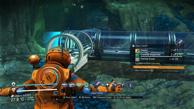 No Man's Sky The Abyss Glass Tunnel
