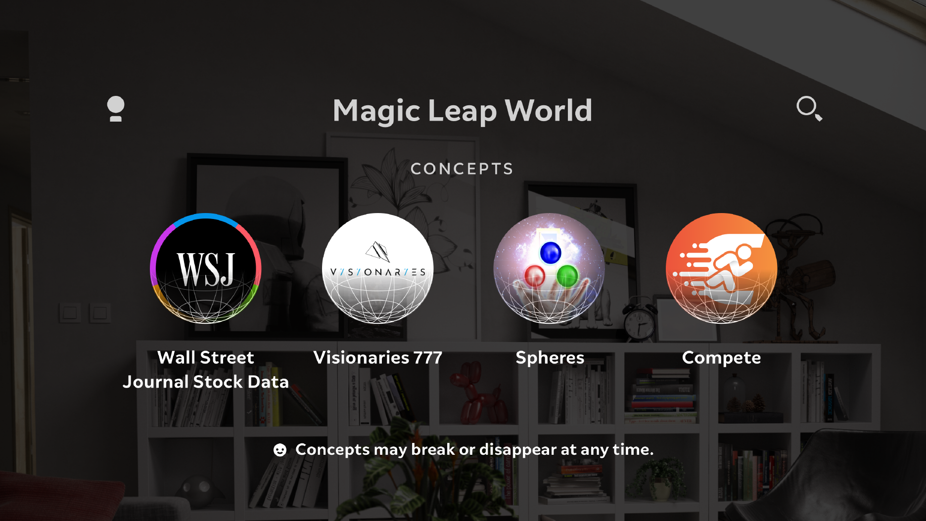 Magic Leap Concepts