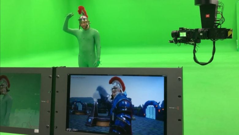 iKinema specialized on motion capture
