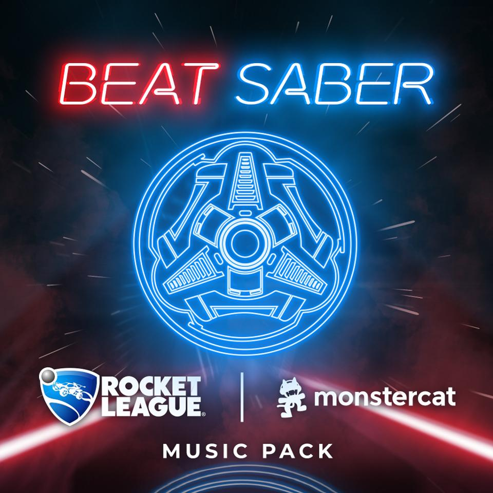 Beat Saber Rocket League Music Pack
