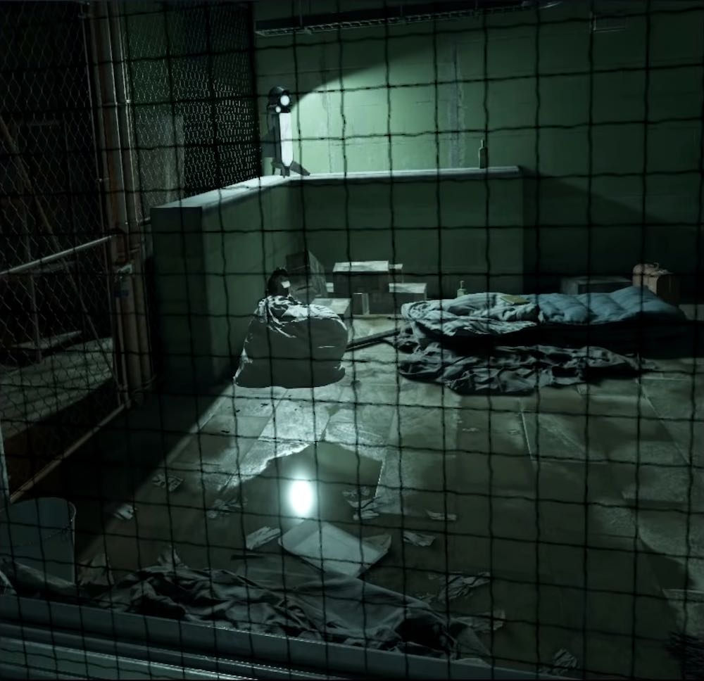 Half-Life: Alyx VNN Screenshot showing a temporary prisoner cell