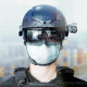 Italian Airport Adopts Augmented Reality Thermal Scanning Helmets
