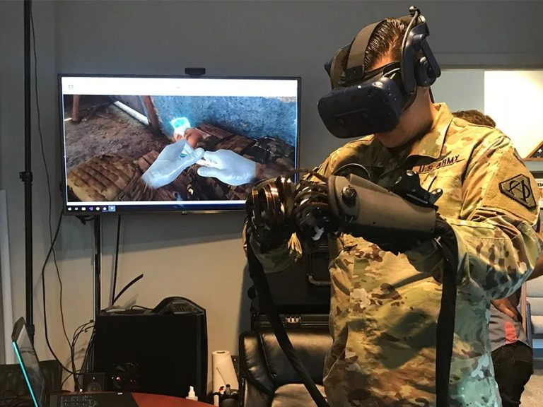 ECS VR Medic Training for Military