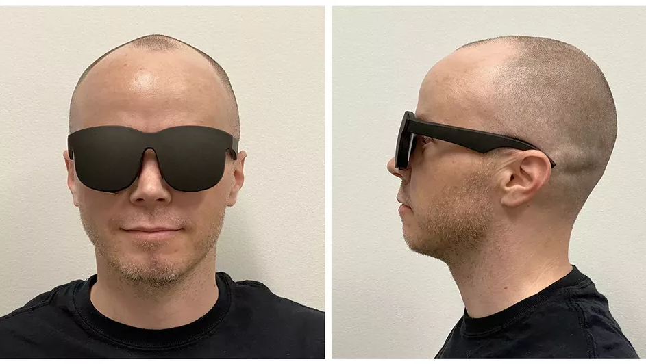 Facebook VR Headset Prototype