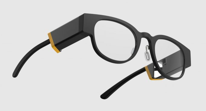A Rendering of CREAL AR Glasses
