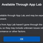 How to Submit an App for App Lab