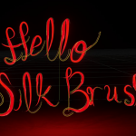 Silk Brush is a WebXR Export of Tilt Brush