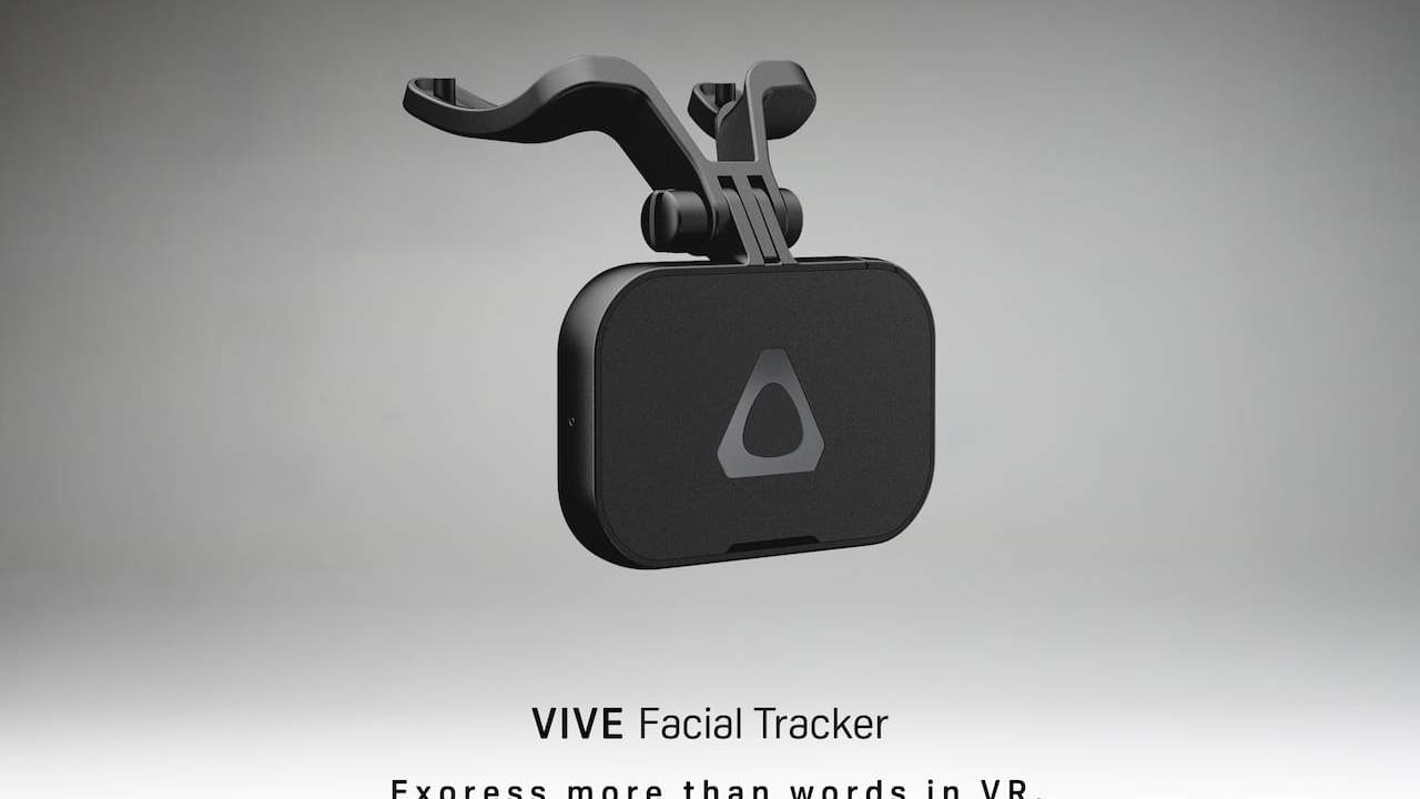 HTC Vive Pro Facial Tracker Available for Sale in the US This Month
