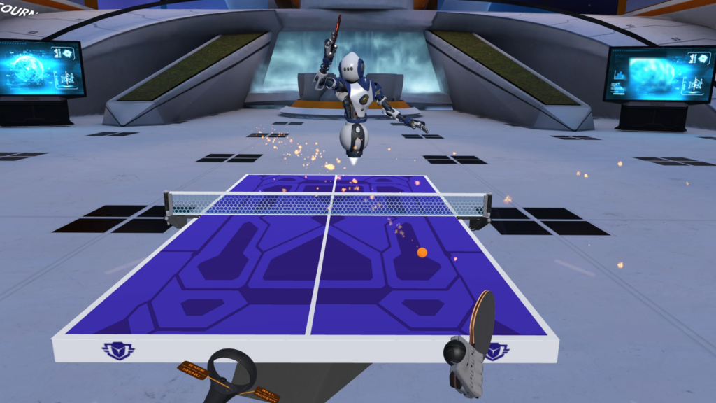 Racket Fury: Table Tennis VR for Oculus Quest