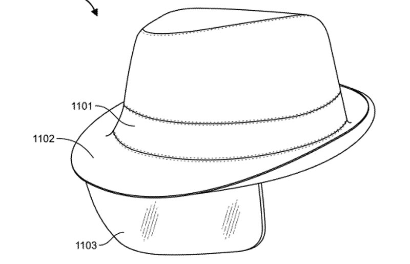 A Fedora with a built in AR HUD