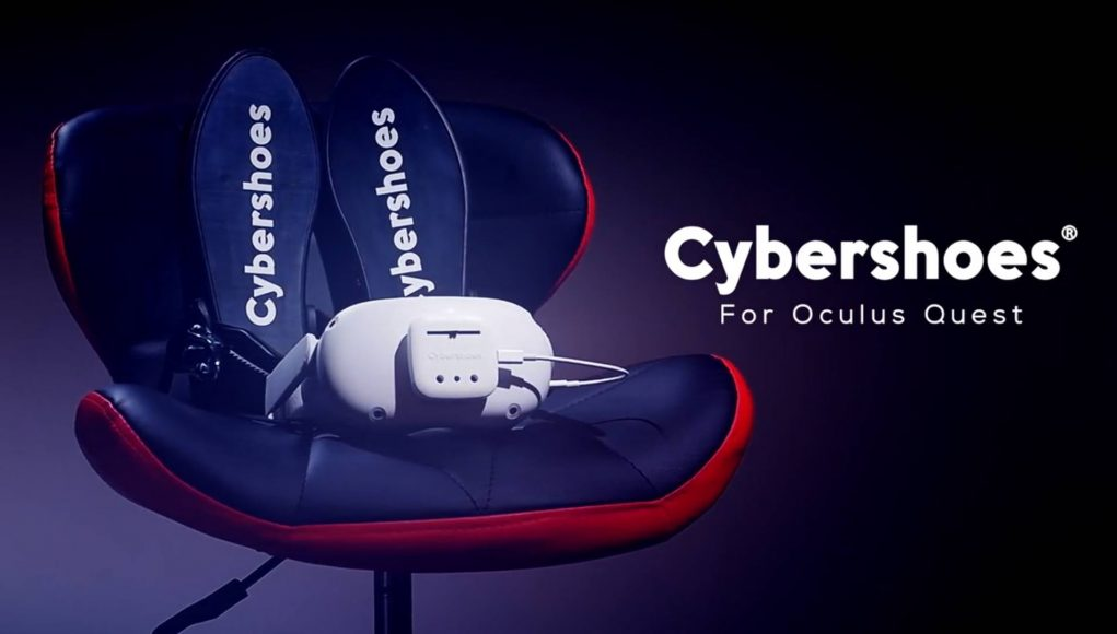 Cybershoes for Oculus Quest