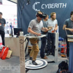 Jog Around Wearing your Oculus Rift with Cyberith Virtualizer