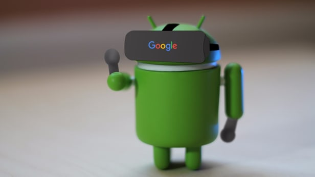 android vr app