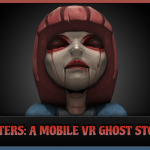 Funny Reaction to VR Scary Video 'Sisters'