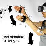 Electrical Muscle Stimulation Provides VR Haptics