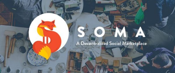 Soma provides a blockchain powered decentralized social marketplace