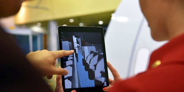Virgin Atlantic will offer B787 Dreamliner Cabin Crew Training in Augmented Reality