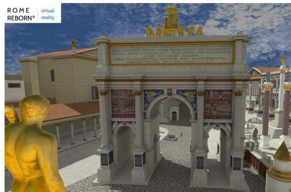 Rome Reborn Virtual Reality Reconstruction