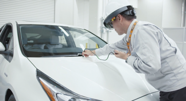 Toyota Improving its Kaizen Philosophy with Augmented Reality