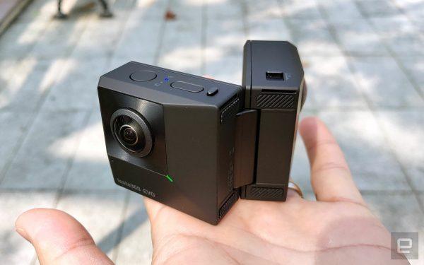 Insta360 EVO Foldable Camera
