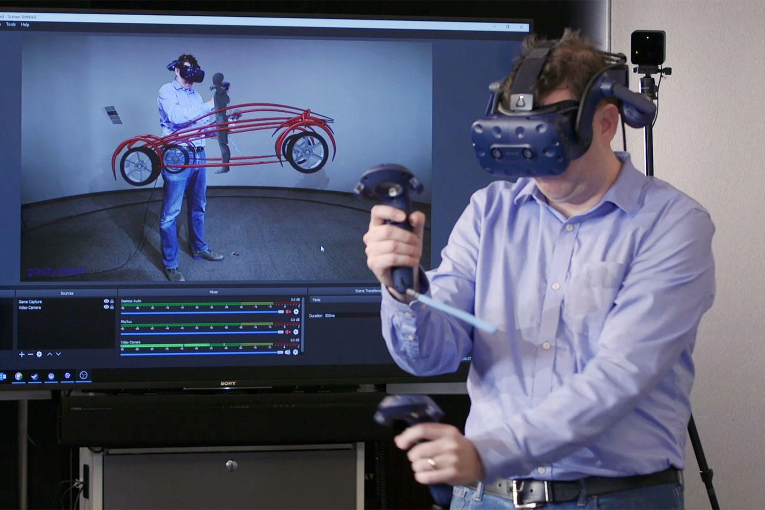 Ford designers around the world can now collaborate in virtual reality design