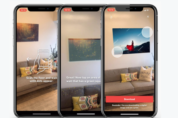 Shutterstock Augmented Reality iOS App