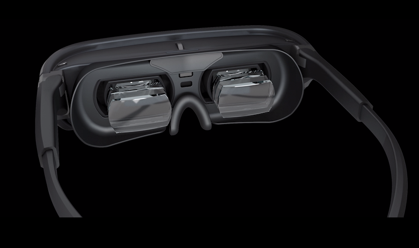 The Luci Immers headset has dual Micro-OLED displays