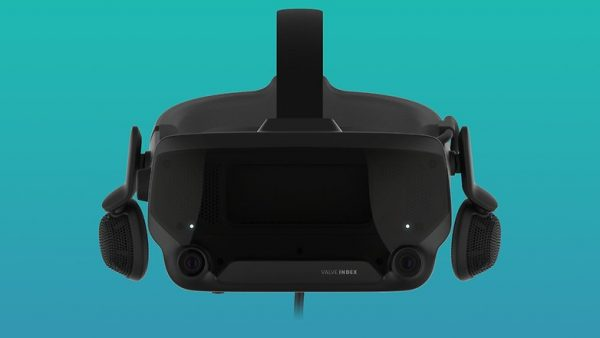 Valve Index integrated headphones with open backs