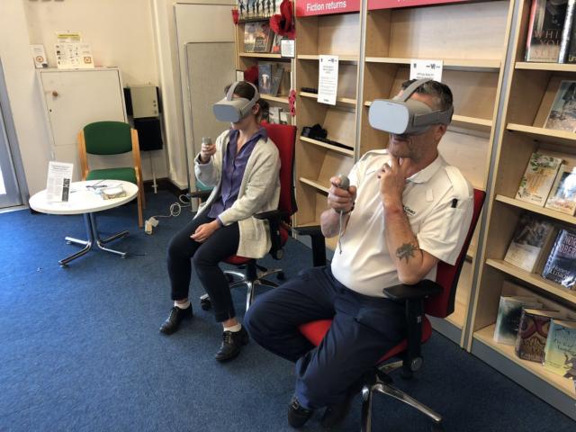 BBC VR Library Tour