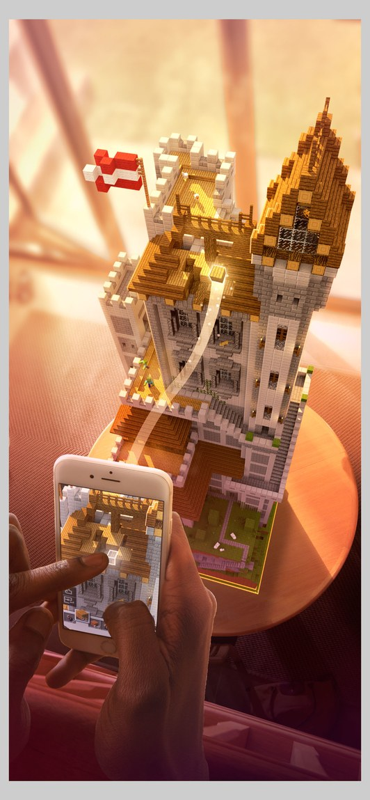 Minecraft Earth in Beta Launch This Summer