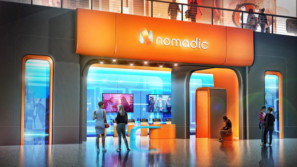Nomadic Location-based VR